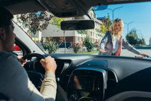 Пешеход и водитель